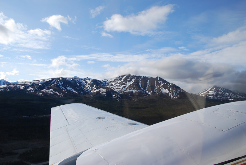 Monday, May 28th, fightseeing tour over Denali (aka Mt McKinley)