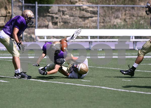 2011 LORAS COLLEGE FOOTBALL INTER SQUAD SCRIMMAGE