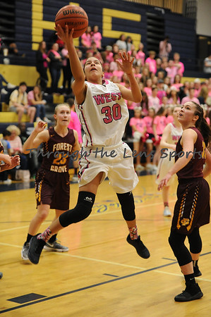 Forest Grove vs. West Albany Girls HS Basketball