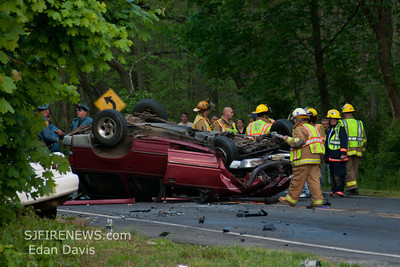 05-01-2012, Fatal MVC, Pittsgrove Twp. Salem County, IAO 60 Almond Rd.