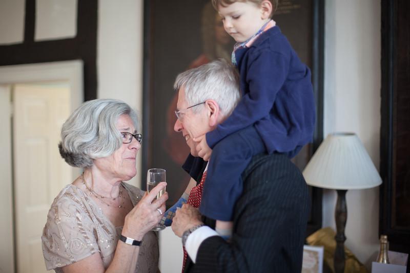 Barbara toasts James.jpg