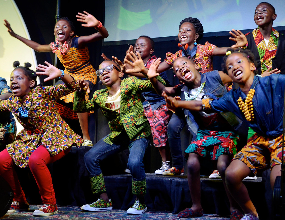 . Members of the Watoto Children\'s Choir perform in 2015 at the Mentor Methodist Church. The choir is returning to Mentor to perform at Mentor United Methodist Church on June 18. For more information, visit mentorumc.org/current. (News-Herald file)