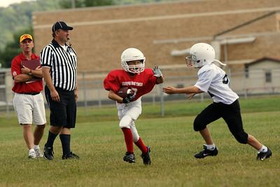 Sun Prairie Red Football - 9/6/2008