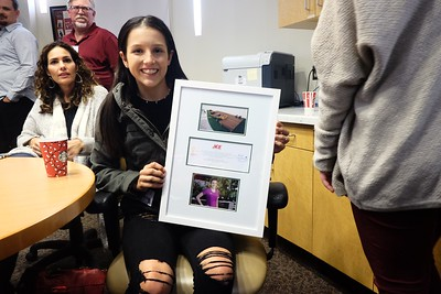 Rady Children's Hospital Award, Dec. 2016