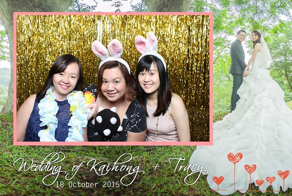 Kaihong + Tracy Photo Booth Album