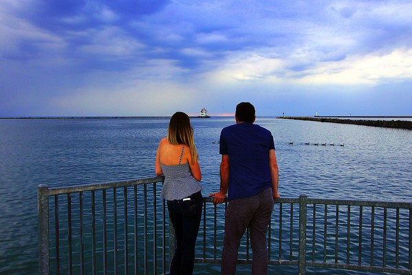 Couple On the Pier 6-6-2016  ( Click to see Photos)