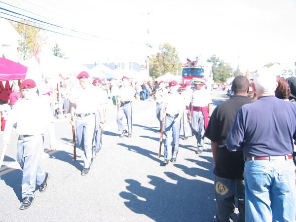 Dillard Guard in Appomattox Railroad Parade 10/13/12