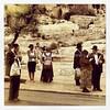 Bus stop, Dung Gate, Old City Jerusalem, Israel