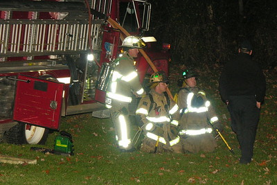 10-26-12 Jackson Twp FD Garage Fire