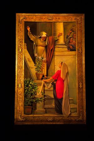Mary Visits Elizabeth