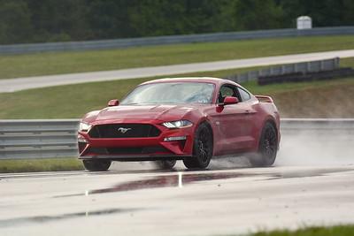 2020 SCCA TNiA Sept2 Pitt Race Nov Red Mustang