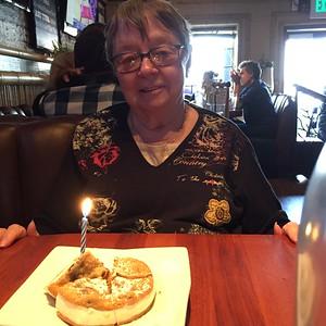 Jan's birthday at Fish Bar