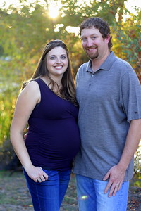 Sarah and Mike Maternity