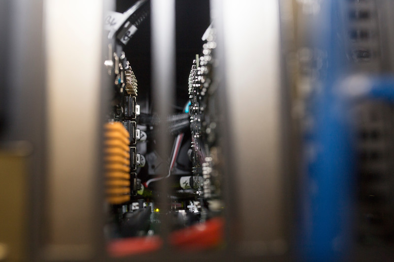 Inside the rack