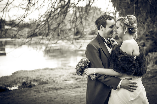 Pauline and Tommy @ Caim Church, Johnstown Castle  @ Ferrycarrig Hotel