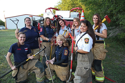 Collin County Lady Firefighters