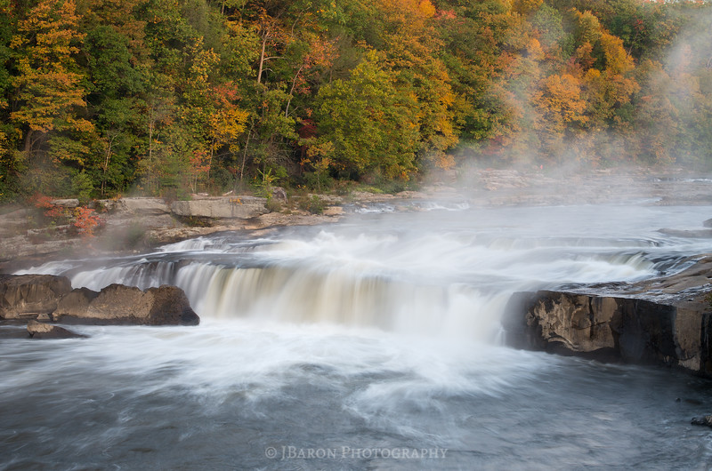 Early Morning at Ohiopyle Falls III