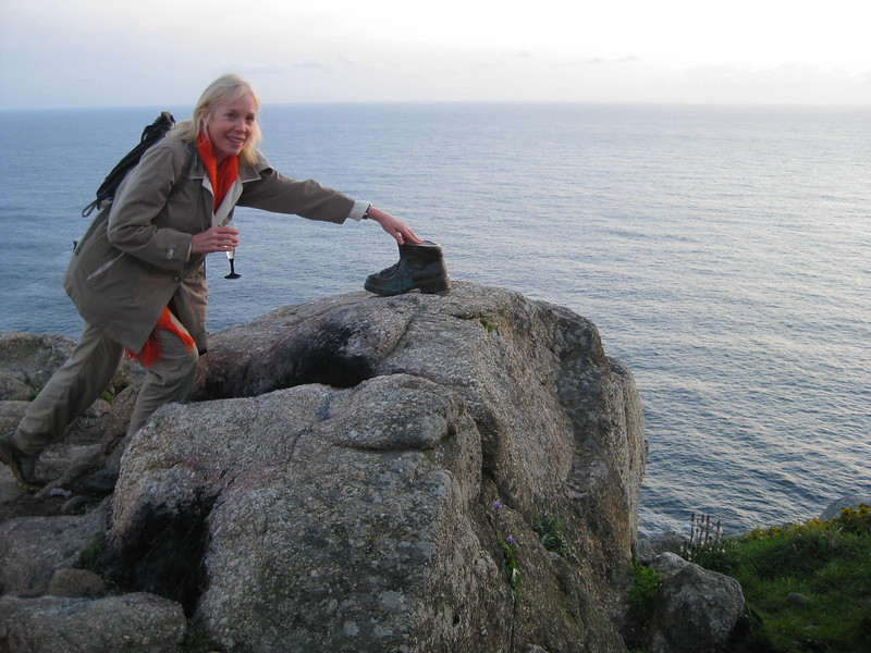 Beverly Nickerson at Cape Finisterre - Johanna Frymoyer *12