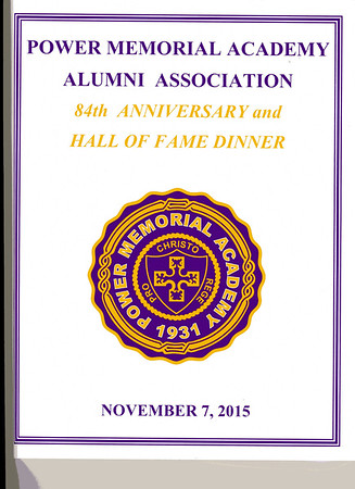 PMAAA Hall of Fame Dinner - November 2015