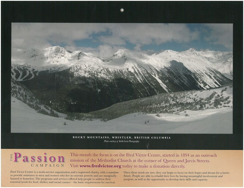 2009 Passion Campaign Calendar Jan. 2009 Rocky Mountains, Whistler, B.C. page.jpg