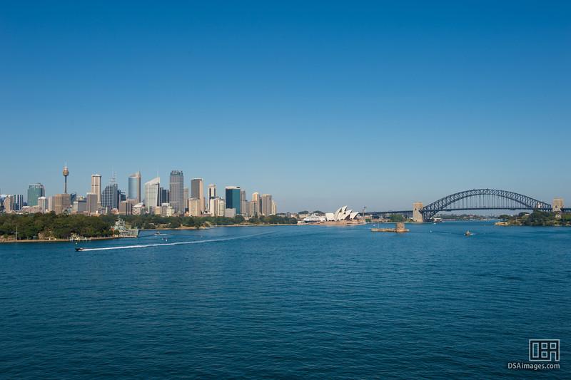 Sydney City, Opera House and Bridge