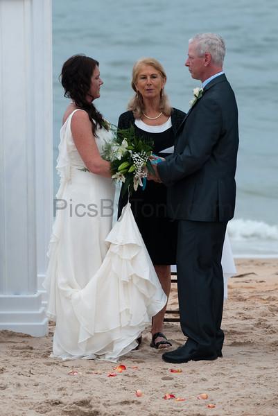 Wedding at Flagler Beach on Mar. 18, 2016
