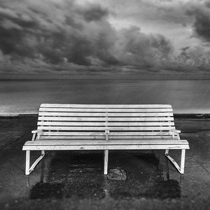Bench in Bad Weather