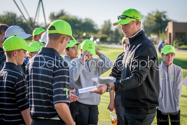 Dan Campbell Golf Academy Pictures