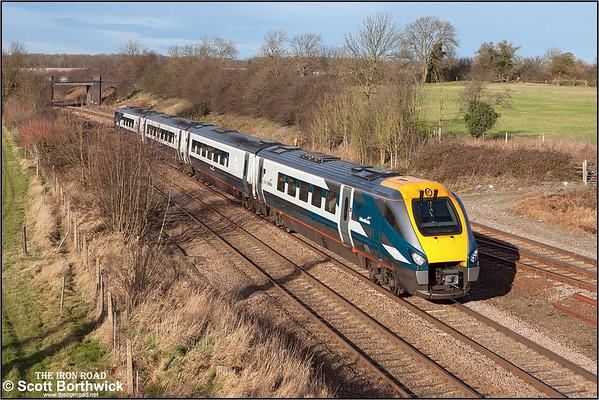 Class 222 (Meridian): Midland Mainline
