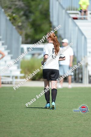 Girls 14U - SASA Spirits vs Platinum FC