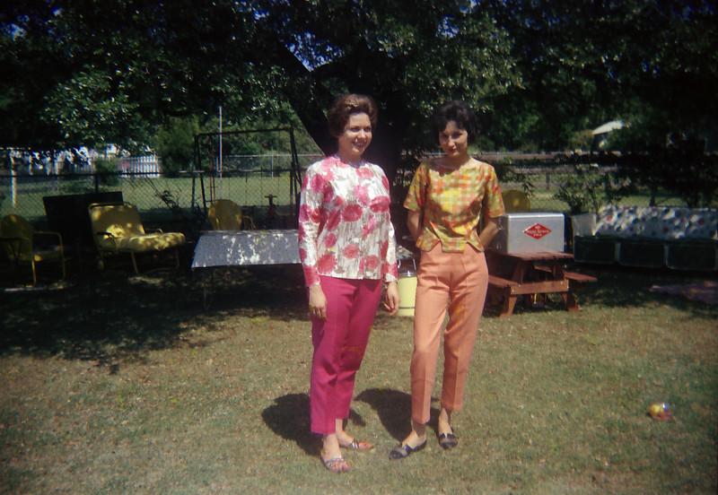 Darla Stone and Patsy Stone (Mrs Reedie Stone Jr)