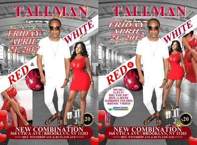 """TALLMAN PRESENT HIS """"RED & WHITE AFFAIR 2017""""(35)"""