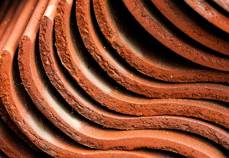 Roof Tile Stack, Campbell, California, 2009