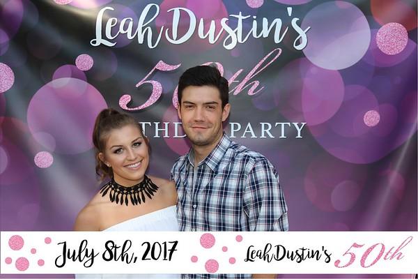Leah Dustin 50th