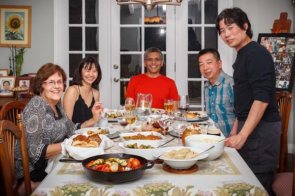 2018 11/22: Thanksgiving Dinner