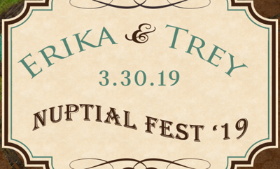 Erika and Trey Nuptial Fest '19