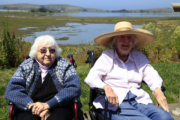 Nela and Ruth- Bodega Bay June 2017