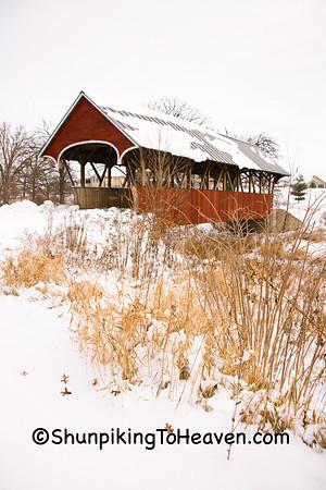 Covered Bridges in Winter