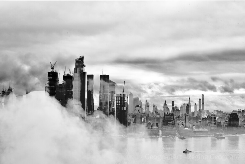 NYC - Breaking Fog after the Storm