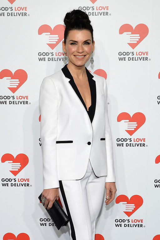 . NEW YORK, NY - OCTOBER 16:  Actress Julianna Margulies attends God\'s Love We Deliver 2013 Golden Heart Awards Celebration at Spring Studios on October 16, 2013 in New York City.  (Photo by Larry Busacca/Getty Images for Michael Kors)