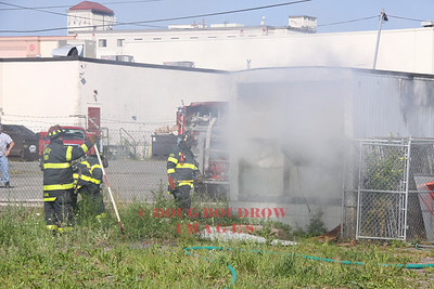 Revere, MA - Working Fire, Rear of 320 Charger Street, 8-13-12