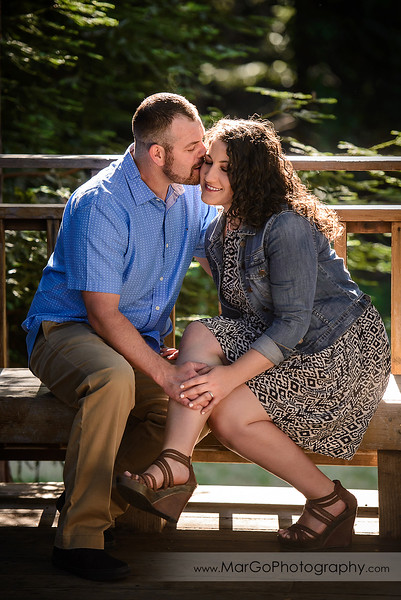 Sanborn County Park and Saratoga Springs Engagement Session
