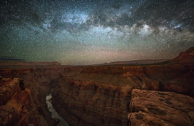Grand Canyon at Night 2017