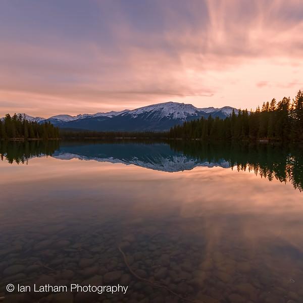 Lac Beauvert at the Jasper Park Lodge
