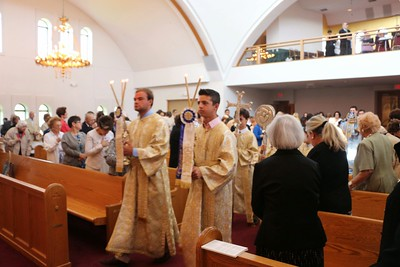 Dormition of the Theotokos Liturgy 2014