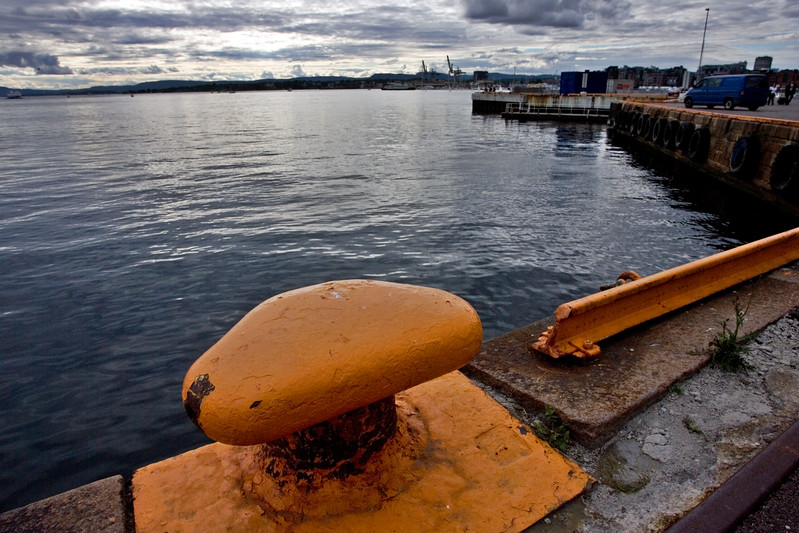 Seafaring image of a seafaring city: Oslo (Norway).