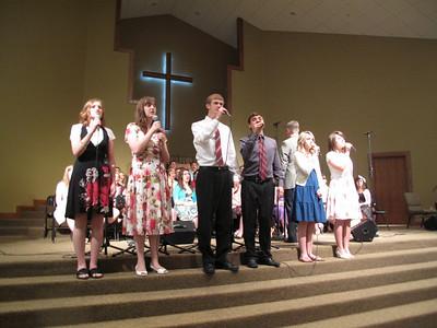CHA Choir at Yukon Church - April 11, 2010