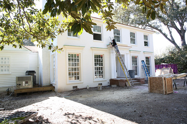 Connor House Progress January