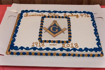 Seminole City Lodge #476 Cornerstone Ceremony - 5/26/2018