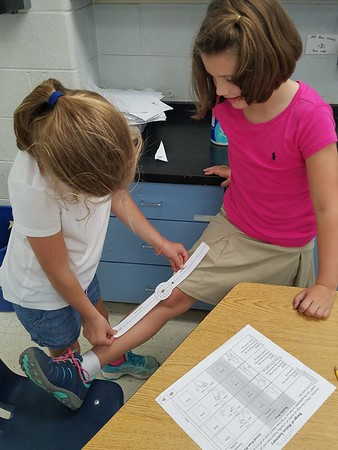 Third Graders Study Biomedical Engineering and the Knee